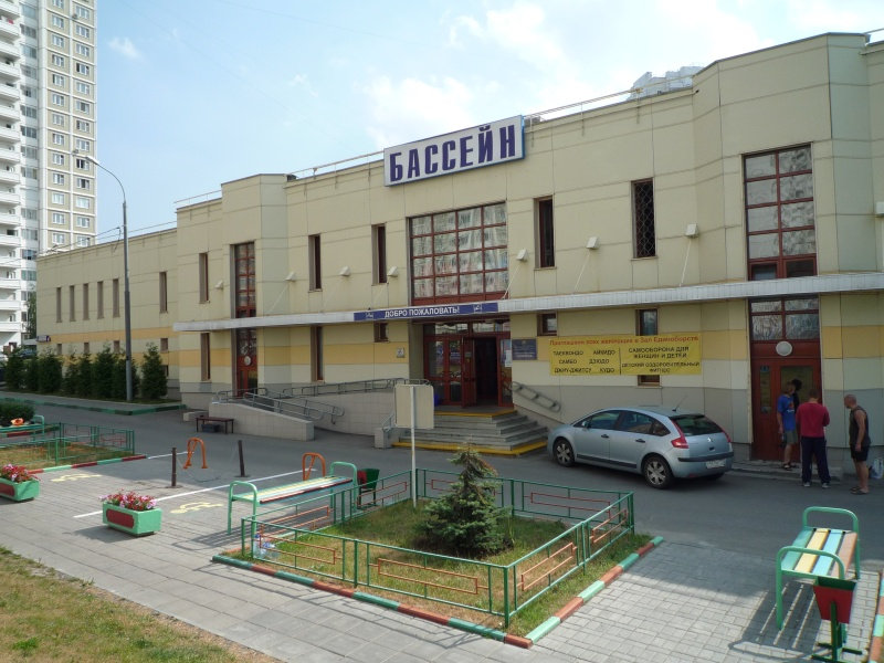 Спортзал в бассейне ГАРМОНИЯ